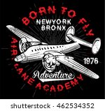 vintage airplanes typography ...   Shutterstock .eps vector #462534352