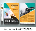 brochure design template vector.... | Shutterstock .eps vector #462535876