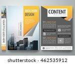 brochure design template vector.... | Shutterstock .eps vector #462535912