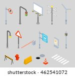 isometric traffic management... | Shutterstock .eps vector #462541072