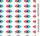 eye icon abstract colorful....   Shutterstock .eps vector #462544105