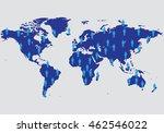 vector graphic abstract info... | Shutterstock .eps vector #462546022
