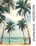 beautiful beach. view of nice...   Shutterstock . vector #462581356