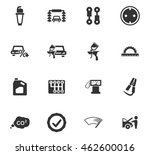 car service maintenance icons...   Shutterstock .eps vector #462600016