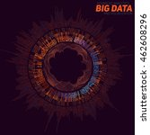 big data visualization.... | Shutterstock .eps vector #462608296