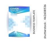 vector design for cover report... | Shutterstock .eps vector #462608536