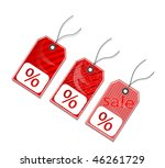 sales tags   Shutterstock .eps vector #46261729