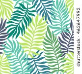seamless exotic pattern with... | Shutterstock .eps vector #462647992