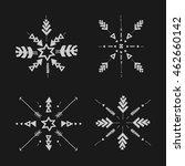 uncommon ethnic vector hand... | Shutterstock .eps vector #462660142