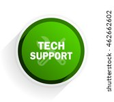 technical support flat icon... | Shutterstock . vector #462662602