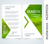 vector modern flyer  poster or... | Shutterstock .eps vector #462690226