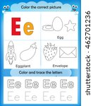 alphabet learning letters  ... | Shutterstock .eps vector #462701236