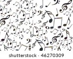 background of music image  ... | Shutterstock . vector #46270309
