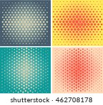 retro pattern's unit collection.... | Shutterstock .eps vector #462708178