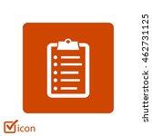 check list vector icon. flat...
