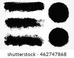 grunge design elements.grunge... | Shutterstock .eps vector #462747868