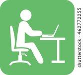 working in office | Shutterstock .eps vector #462772255