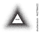 vector spray effect abstract... | Shutterstock .eps vector #462786622