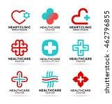 medicine and healthcare.... | Shutterstock .eps vector #462796855