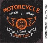 grunge  t shirt graphic design  ... | Shutterstock .eps vector #462799702