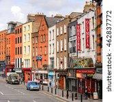 dublin  ireland   july 12  2016 ... | Shutterstock . vector #462837772