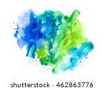 modern  colored watercolor | Shutterstock . vector #462863776