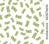 rain from money seamless... | Shutterstock .eps vector #462876646
