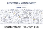 doodle vector illustration of... | Shutterstock .eps vector #462924118