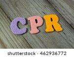 cpr  cardiopulmonary... | Shutterstock . vector #462936772