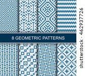 set of vector geometric...   Shutterstock .eps vector #462937726