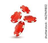 poker chips design template.... | Shutterstock .eps vector #462969802