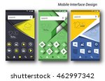mobile interface ui  ux  gui...