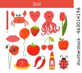 Red. Learn The Color. Educatio...