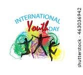 illustration of international... | Shutterstock .eps vector #463036942
