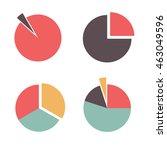 infographics. vector business... | Shutterstock .eps vector #463049596