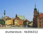 Castle Square  Warsaw  Poland