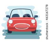 vector illustration retro... | Shutterstock .eps vector #463167278