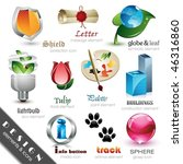 design elements and icons | Shutterstock .eps vector #46316860