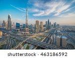 Dubai Skyline With Beautiful...