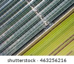 Aerial Agricultural View Of...