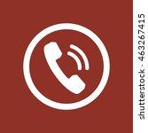 phone   icon. flat design.   Shutterstock .eps vector #463267415