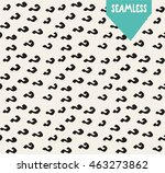 handsketched vector seamless... | Shutterstock .eps vector #463273862