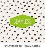 handsketched vector seamless... | Shutterstock .eps vector #463273868