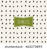handsketched vector seamless... | Shutterstock .eps vector #463273895