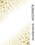 golden stars | Shutterstock .eps vector #463290878