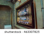 los angeles  ca  usa . january  ... | Shutterstock . vector #463307825