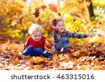 Happy Children Playing In...