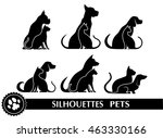 Silhouettes Of Pets