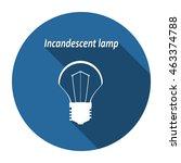 bulb icon  vector  icon flat
