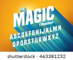 vector of abstract embossed... | Shutterstock .eps vector #463381232